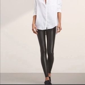Daria Vegan Leather Legging Wilfred Size Small